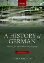 Joseph Salmons A History of German