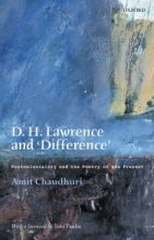 Chaudhuri, Amit D.H.Lawrence and Difference