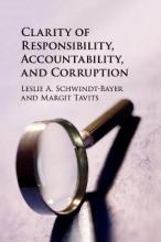 Leslie A. (Rice University, Houston) Schwindt-Bayer,   Margit (Washington University, St Louis) Tavits Clarity of Responsibility, Accountability, and Corruption