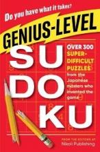 Nikoli Publishing Genius-Level Sudoku