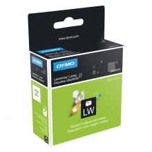 , Etiket Dymo 11253 labelwriter 25x25mm verwijderbaar 750stuk