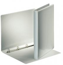 , Presentatieringband Esselte Deluxe A4 4-rings D-mech 20mm wit