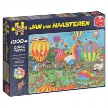 , Jan van Haasteren Het ballonfestival - 1000 stukjes