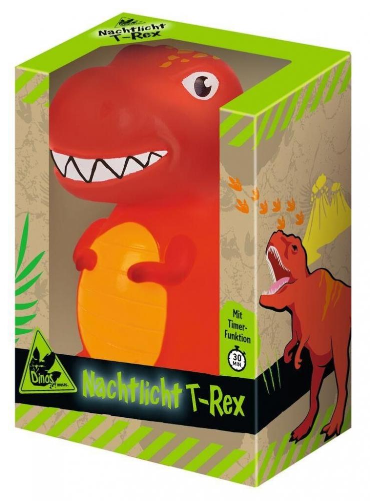 Mos-40242,Dino nachtlampje t-rex met timer