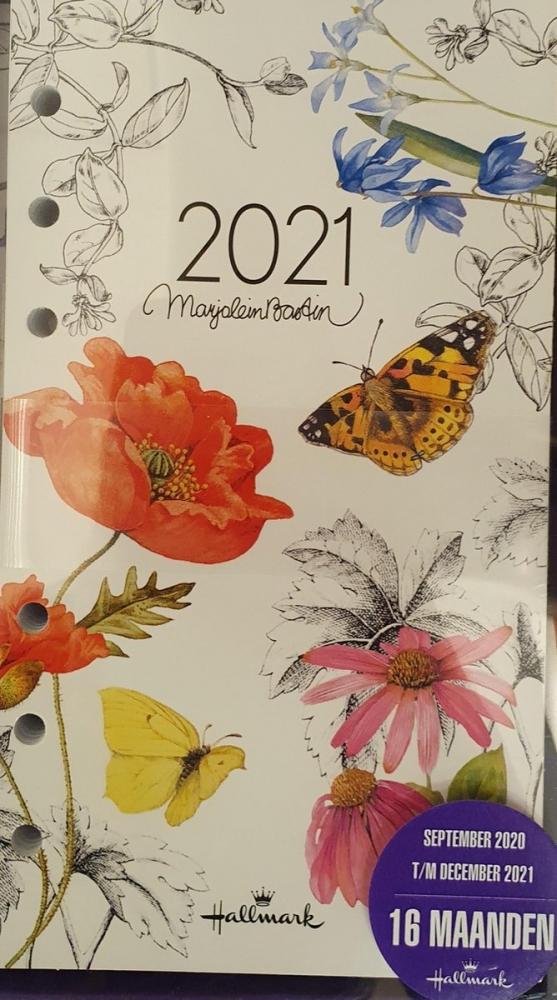 ,Agendainhoud 2021 hallmark marjolein bastin 16 maanden standaard