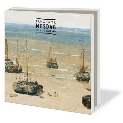 Wmc551,Notecard pak 10 stuks 15 x15 cm panorama mesdag