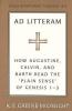 Greene-McCreight, K. E., Ad Litteram
