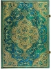 <b>Pb32120</b>,Paperblanks notitieboek blanco grande turquoise chronicles