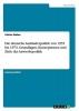 Weber, Fabian, Die deutsche Ausl?nderpolitik von 1955 bis 1973. Grundlagen, Konzeptionen und Ziele der Anwerbepolitik