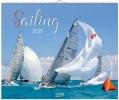 Sailing 2021, Segelkalender und Naturkalender über den Sport des Segelns. PhotoArt Kalender. Quer-format: 55 x 45,5 cm