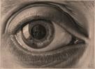 <b>Puz-842</b>,Puzzel m.c. escher oog - 1000