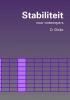 , D.  Dicke, Stabiliteit voor ontwerpers