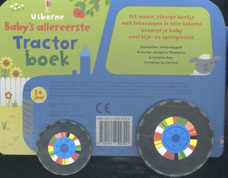 ,Baby`s allereerste tractor boek