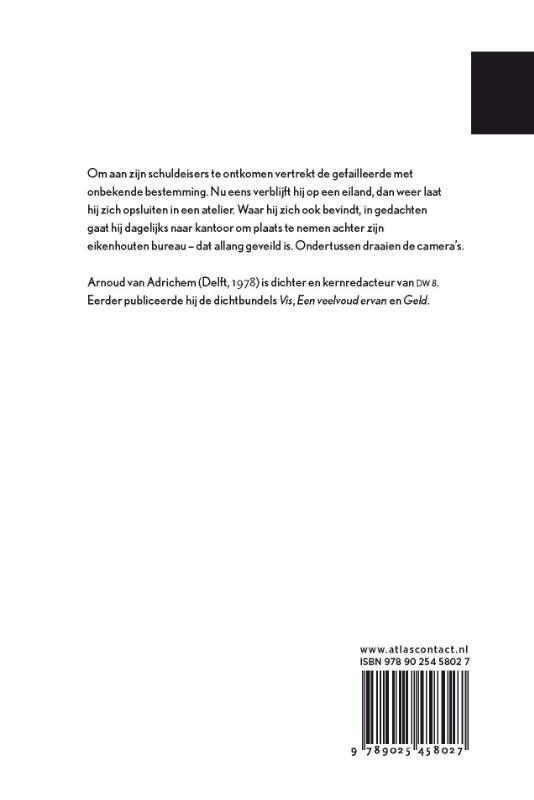 Arnoud van Adrichem,Het failliet