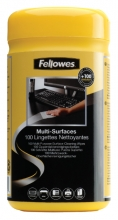 , Reiniger Fellowes doekjes dispenser 100stuks