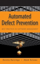 Huizinga, Dorota Automated Defect Prevention