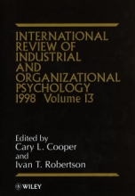 Cooper, Cary L. International Review of Industrial and Organizational Psychology 1998