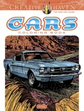 Tim Foley Creative Haven Cars Coloring Book