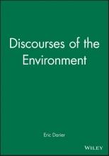 Darier, Eric Discourses of the Environment
