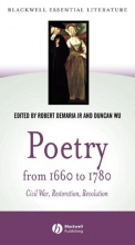 Robert DeMaria,   Duncan Wu Poetry from 1660 to 1780