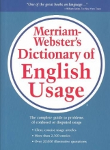 Merriam-Webster Merriam-Webster`s Dictionary of English Usage