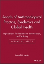 Lende, Daniel H. Annals of Anthropological Practice