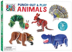 Carle, Eric The World of Eric Carle Punch-out & Play Animals