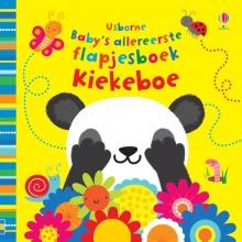 , Baby`s allereerste speel- en voelboekje Kiekeboe