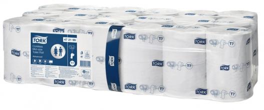 , Toiletpapier Tork T7 472199 Advanced 2laags 900vel 36rollen wit