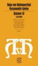 Hofmannsthal, Hugo von Dramen IV. Lustspiele