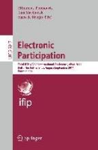 Hans de Bruijn Efthimios Tambouris    Ann Macintosh, Electronic Participation