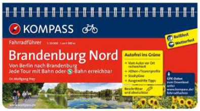 Frey, Wolfgang FF6012 Brandenburg Nord, von Berlin nach Brandenburg Kompass