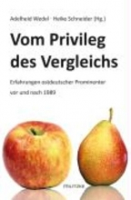 Schneider, Heike Vom Privileg des Vergleichs