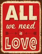 All we need is Love Blankbook