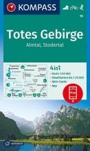 , Totes Gebirge, Almtal, Stodertal 1:50 000