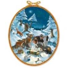 Die Tiere feiern Weihnachten Adventskalender