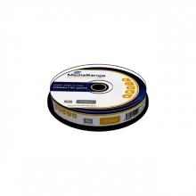 , DVD+RW MediaRange 4.7GB rewritable, 10 stuks