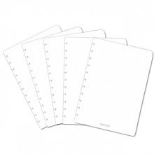 , Uitbreidingsset Correctbook A4 met 5 puntjes bladen