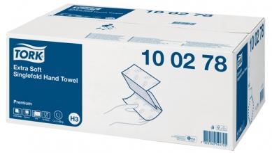 , Handdoek Tork H3 100278 Premium Z 2laags 23x23cm 15x200st