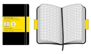 Moleskine Soft Cover Pocket Squared