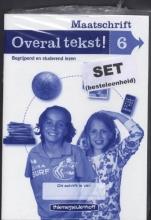 Drie redactie & communicatie Overal tekst! Maatschrift gr 6 (set a 5)