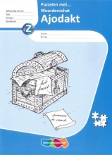 Eva den Boogert, Jessica  Copier Ajodakt, Taal, Puzzelen met woordenschat, Werkboek, groep 4 (5 ex.)