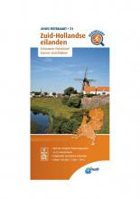 ANWB , Fietskaart Zuid-Hollandse eilanden 1:66.666