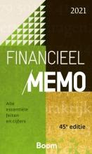 T. de Bondt , Financieel Memo 2021
