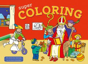 , Sinterklaas Super Coloring Saint-Nicolas Super Coloring