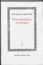 L. Haft W. Idema, Chinese letterkunde