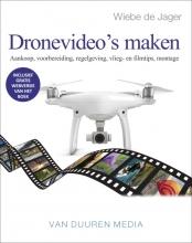 Wiebe de Jager , Dronevideo's maken
