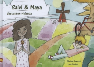 Mariem  Aameyri Salvi y Maya descubren Holanda