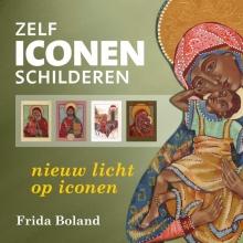 Frida  Boland Zelf iconen schilderen