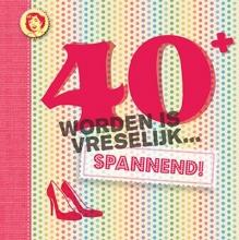 Vitataal Leeftijdserie 40 worden is vreselijk... spannend!